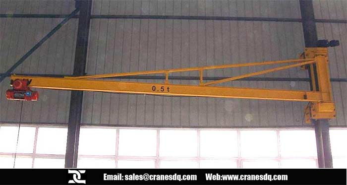 Wall bracket 80 ton crane
